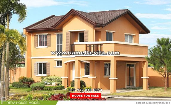 Camella Vita House and Lot for Sale in General Trias Philippines