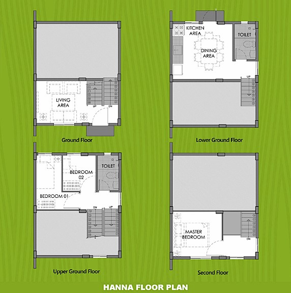 Hanna Floor Plan House and Lot in General Trias