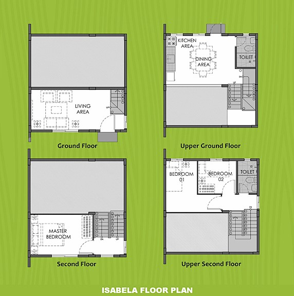 Isabela Floor Plan House and Lot in General Trias