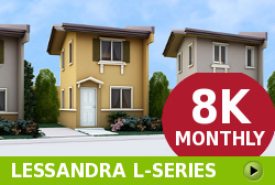 Lessandra Affordable Houses in Camella Vita