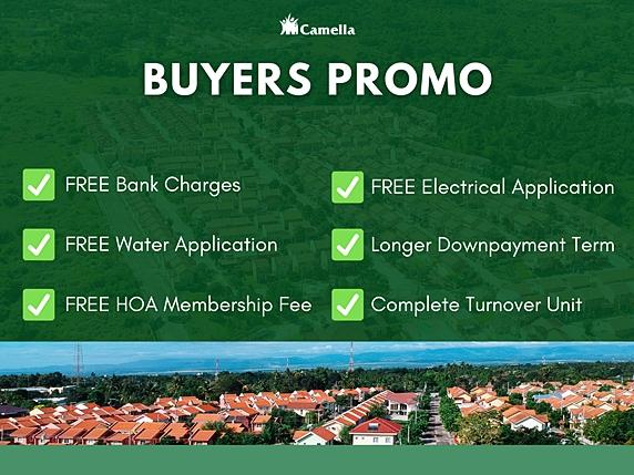 Promo for Camella Vita.