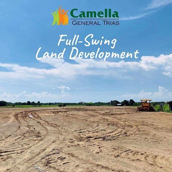 News regarding Camella Vita.