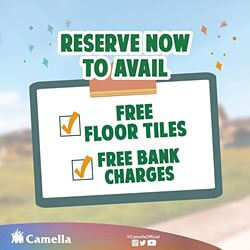 Promo for Camella Vita.